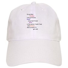 Foxface GF/Peeta BF/Glimmer Cd 2 Baseball Cap