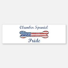 Clumber Spaniel Pride Bumper Bumper Bumper Sticker