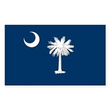 SC Palmetto Flag Decal