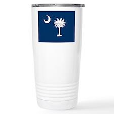 SC Palmetto Flag Travel Mug