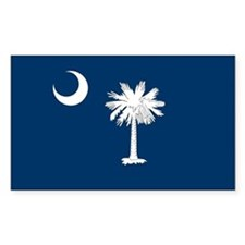 SC Palmetto Flag Decal
