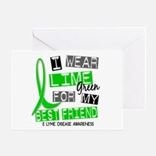 I Wear Lime 37 Lyme Disease Greeting Card