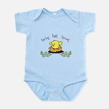 Spring Chick Infant Bodysuit