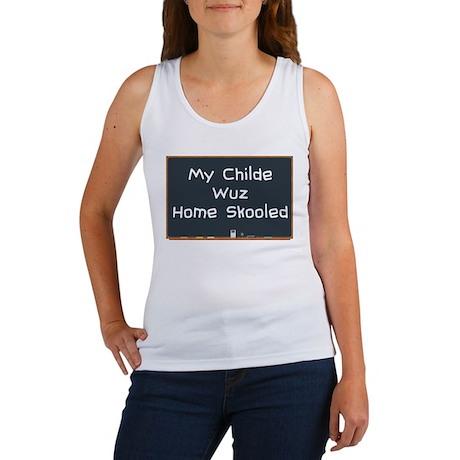 Home Skooled Women's Tank Top