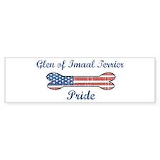 Glen of Imaal Terrier Pride Bumper Bumper Sticker