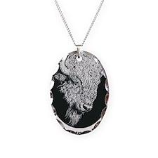 Great White Buffalo Necklace