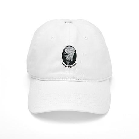 Great White Buffalo Cap