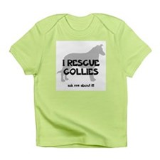 I RESCUE Collies Infant T-Shirt