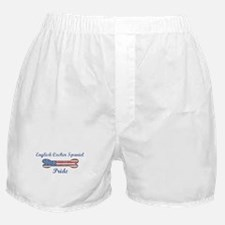 English Cocker Spaniel Pride Boxer Shorts