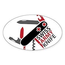 Swiss Knife Design Decal