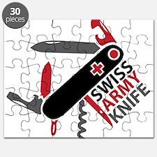 Swiss Knife Design Puzzle