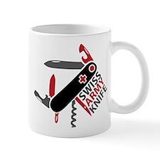 Swiss Knife Design Mug