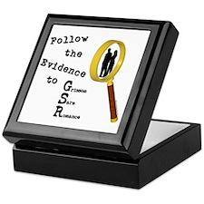 Follow the Evidence Magnify Keepsake Box