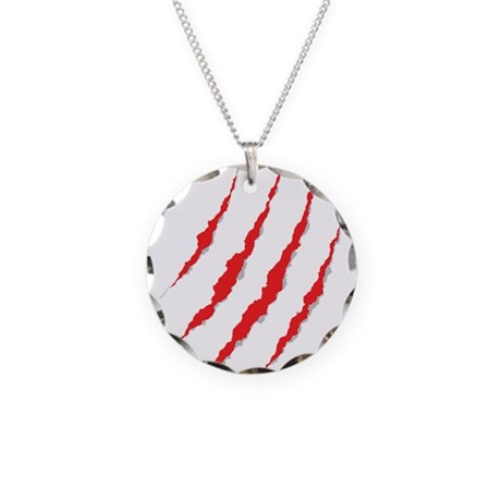 New Section Necklace Circle Charm