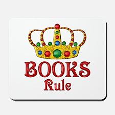 BOOKS Rule Mousepad
