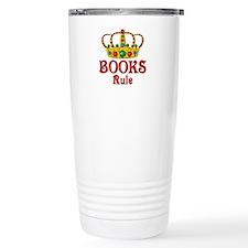 BOOKS Rule Travel Mug