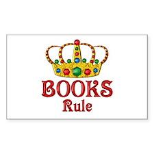 BOOKS Rule Decal