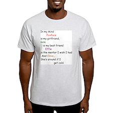 Foxface GF/Gale BF/Clove Cd 2 T-Shirt