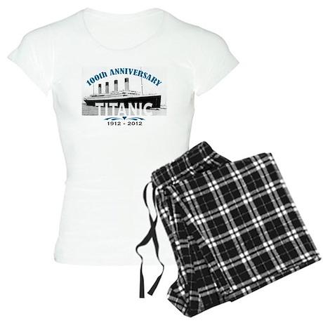 Titanic Sinking Anniversary Women's Light Pajamas