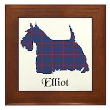 Terrier - Elliot Framed Tile