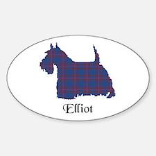 Terrier - Elliot Sticker (Oval)