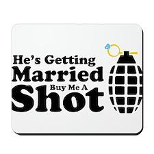 Bachelor's Shirt Mousepad
