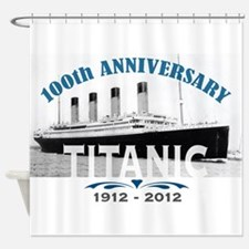 Titanic Sinking Anniversary Shower Curtain