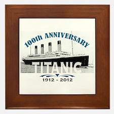 Titanic Sinking Anniversary Framed Tile