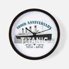 Titanic Sinking Anniversary Wall Clock