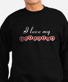 I love my Cavachon Sweatshirt (dark)