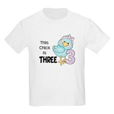 This Chick is Three Girls Shirt