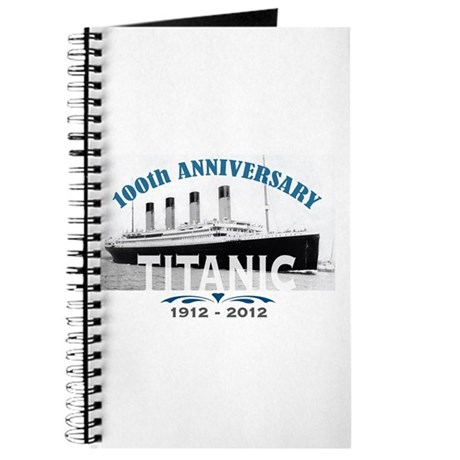 Titanic Sinking Anniversary Journal
