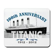 Titanic Sinking Anniversary Mousepad