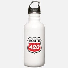 Vintage styled distressed 420 Water Bottle