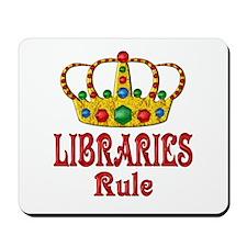 LIBRARIES Rule Mousepad