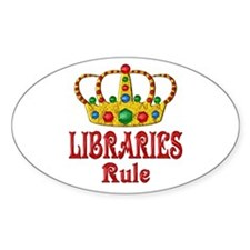 LIBRARIES Rule Decal