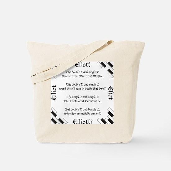 Elliot Spellings Tote Bag