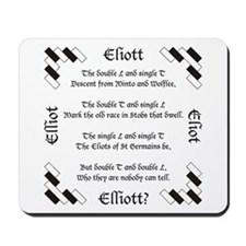 Elliot Spellings Mousepad