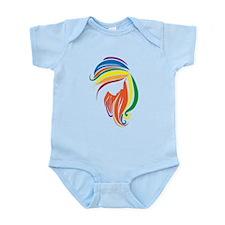 Woman Silhouette Infant Bodysuit