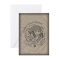 Celtic Epona Coin Greeting Card