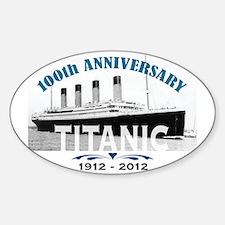 Titanic Sinking Anniversary Decal