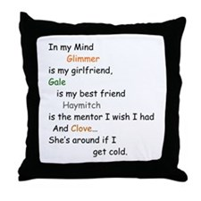 Glimmer GF/Gale BF/Clove Cd 1 Throw Pillow
