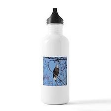 Bald Eagle #02 Water Bottle