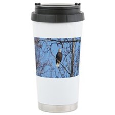 Bald Eagle #02 Travel Mug
