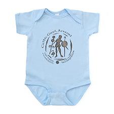 Celtic Chieftain Coin Infant Bodysuit