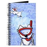 West highland white terrier snorkle Journals & Spiral Notebooks