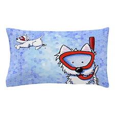 Snorkel Westies Pillow Case