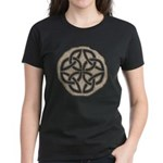 Celtic Knotwork Coin Women's Dark T-Shirt