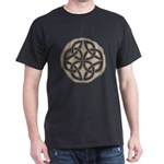 Celtic Knotwork Coin Dark T-Shirt
