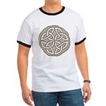 Celtic Knotwork Coin Ringer T
